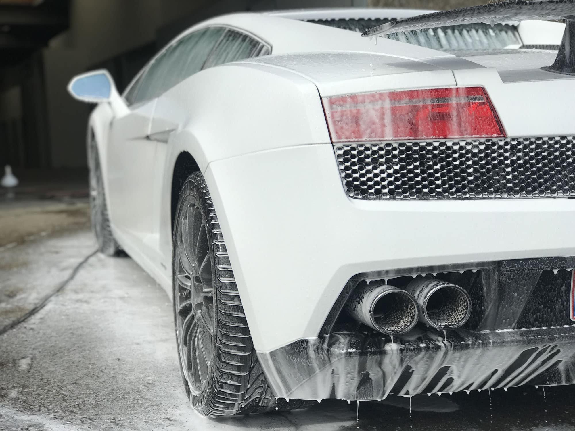 Lambo G Snowfoam - klargøring af bil
